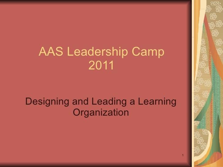 Leadership Camp 2011