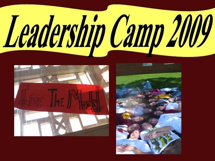 Leadership Camp Slideshow 2009