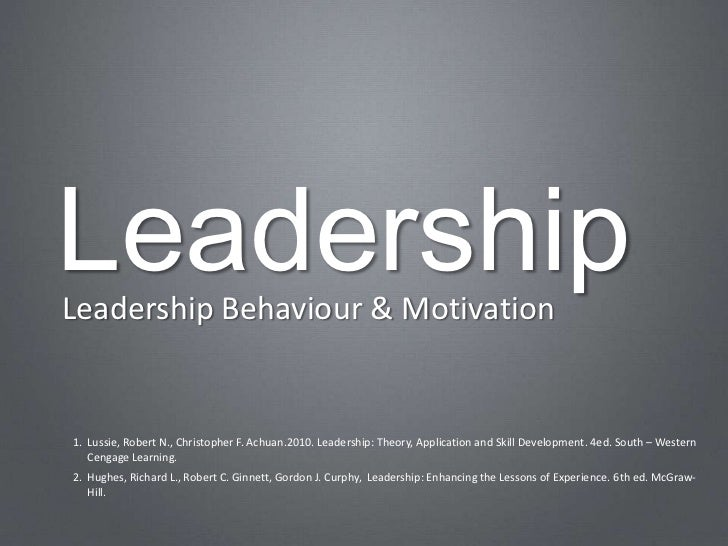 Leadership ch03
