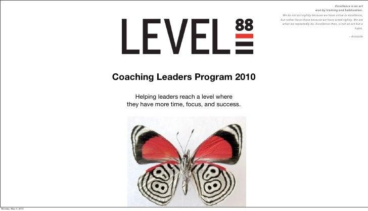 Leadership Coaching 2010