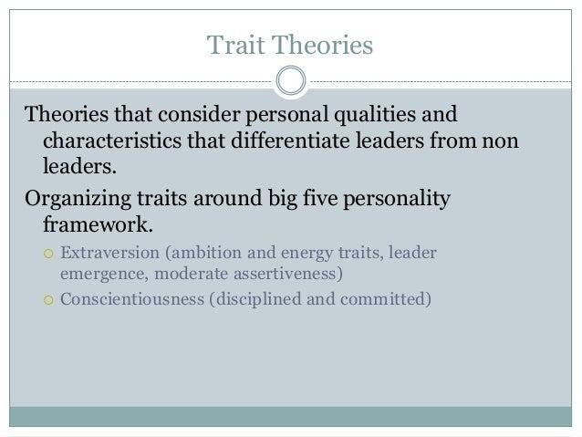 leadership big five personality traits essay