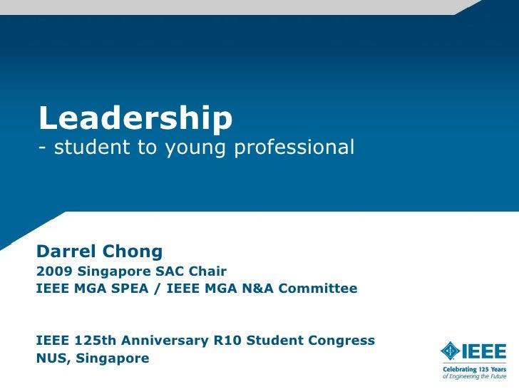 Leadership Darrel Chong
