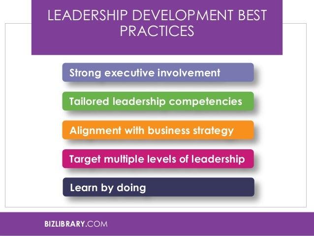 leadership development in organizations pdf
