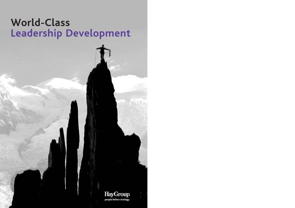 World-ClassLeadership Development
