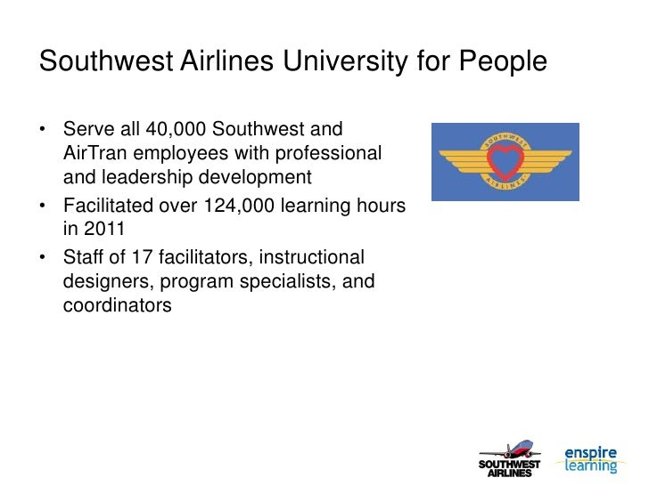 leadership of southwest airlines I always fly southwest airlines if i can help it  to me, this is the exact kind of  leadership example that inspires people which sets the tone for.