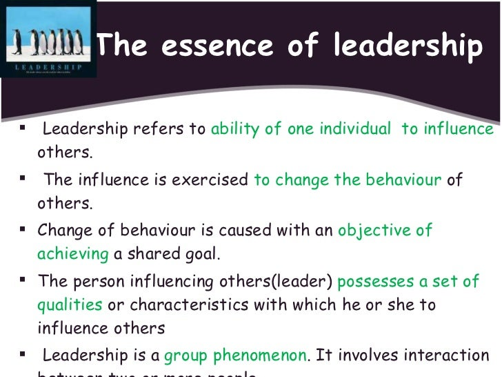 Introduction leadership styles essay
