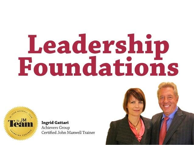 LeadershipFoundations