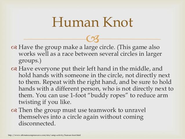 Good Leadership Building Games