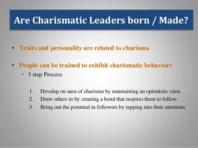the gifts and dangers of charisma in leaders Charismatic authority is a concept about leadership that was developed by the  german  gift that demonstrated the authority of god within the early leaders of  the  his charisma risks disappearing if he is abandoned by god or if his.