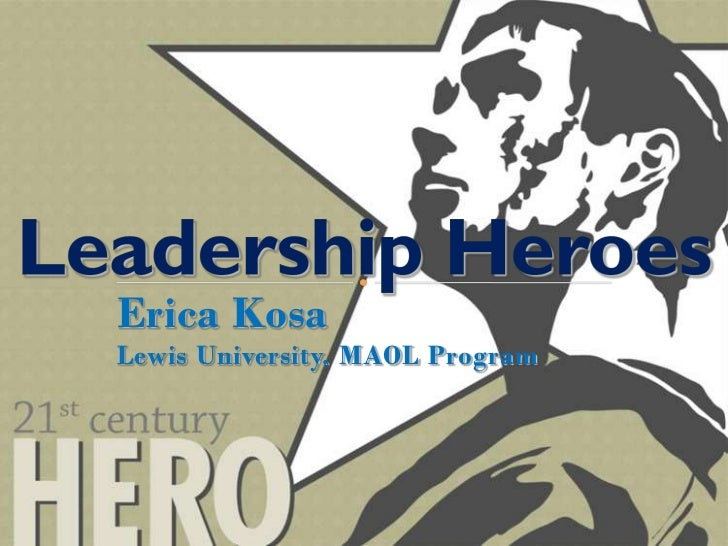 Leadership Heroes   Erica Kosa