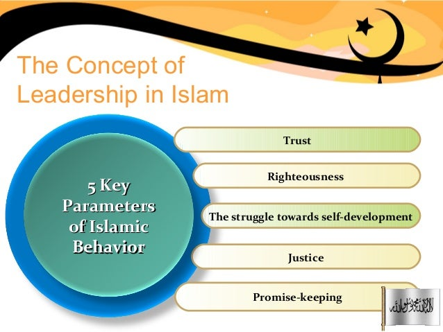 the concept of leadership in islam Effective leadership steps for strategy implementation in islamic organizations by rafik beekun planning without implementation is useless in some islamic organisations, there is no.
