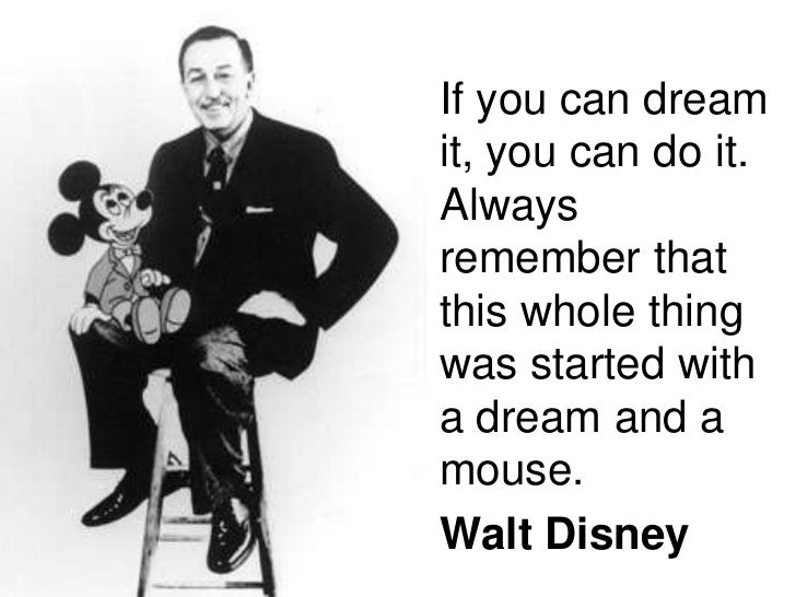 disney it all started with a mouse quote