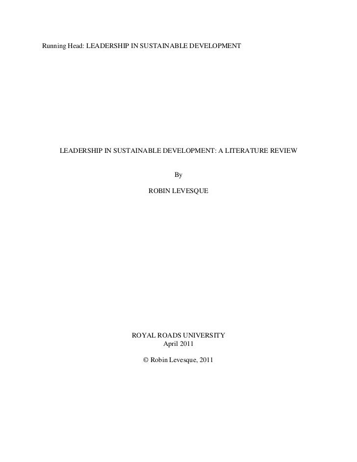 title page for annotated bibliography