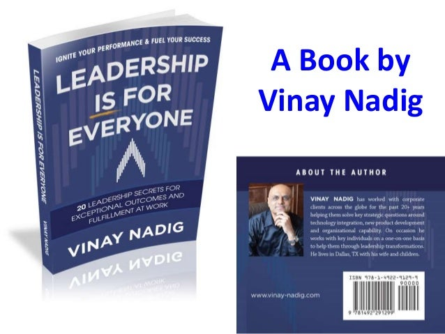 A Book by Vinay Nadig