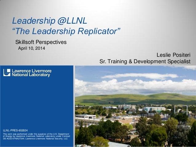 Leadership @llnl v3.