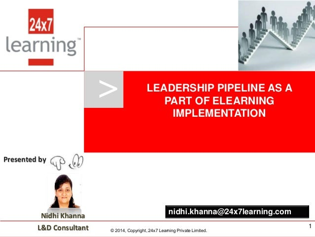 Leadership pipeline as a part of eLearning implementation