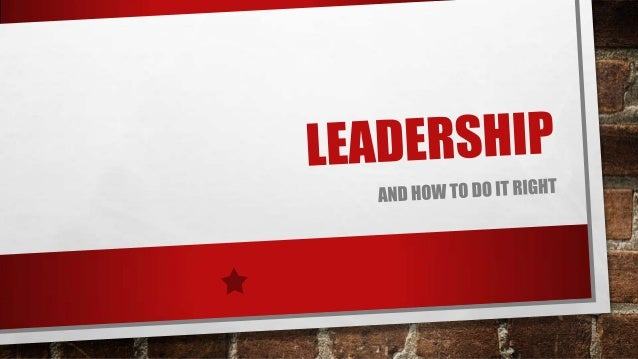 • HELPING YOU UNDERSTAND THE WORLD OF LEADERSHIP WITH THESE EASY TIPS  • IT CAN BE A STRUGGLE TO DEVELOP YOUR LEADERSHIP A...