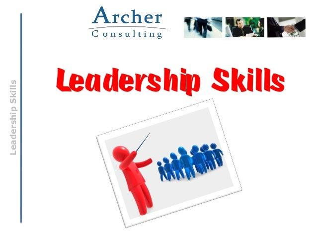 Leadership Skills & The Fifth Disciplines