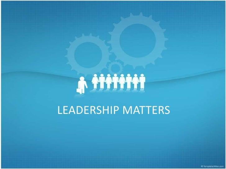 Leadership ppt presentation_amanda_milson