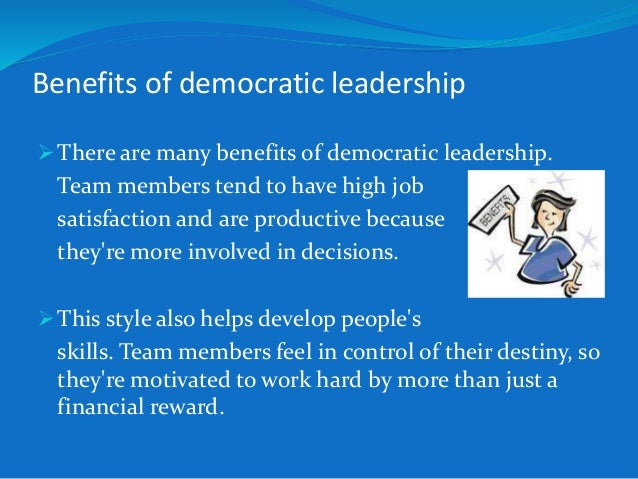 Democratic Leadership Theory - wowkeyword.com