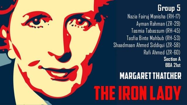 margaret thatcher iron lady pdf