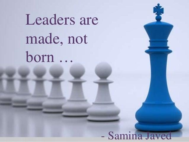 Leadership show