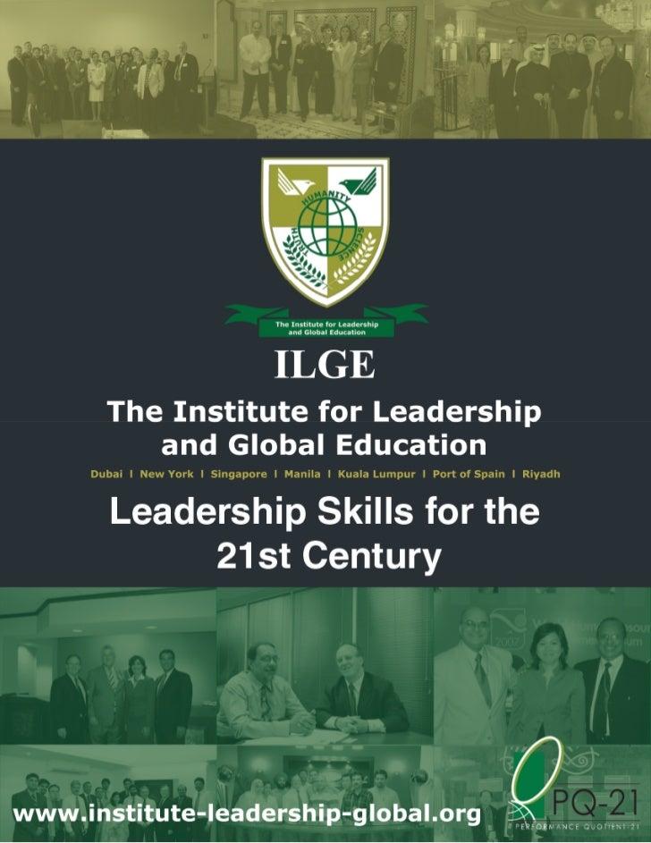 Leadership Skills For The 21 St Century   Dubai  Oct. 15 16, 2012   Ls010b  V6