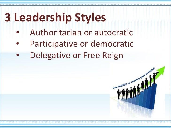 leadership style 5 essay