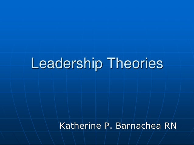 leadership current theories Transformational vs transactional leadership theories:  and offers meaning for the current tasks in  transactional leadership is a style of leadership in.