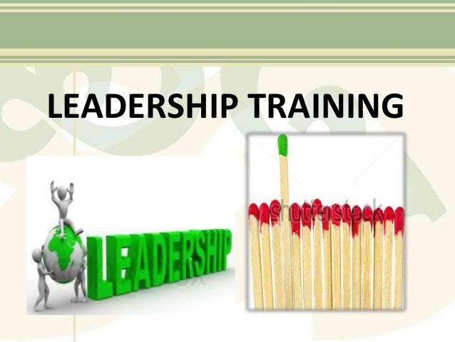 Leadership training ppt. kj