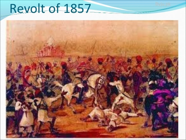 causes of the revolt 1857 1a the revolt of 1857 1 objectives: after going through this unit the student wilt be able:- a) to understand the background of the revolt 1857.