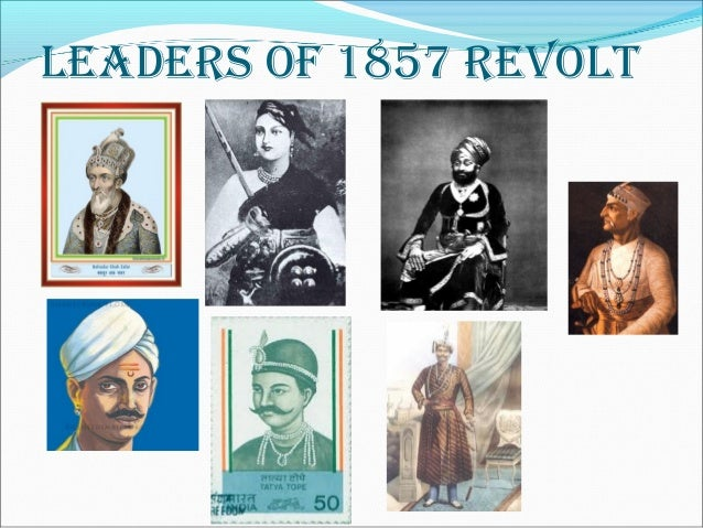 5 freedom fighters of 1857