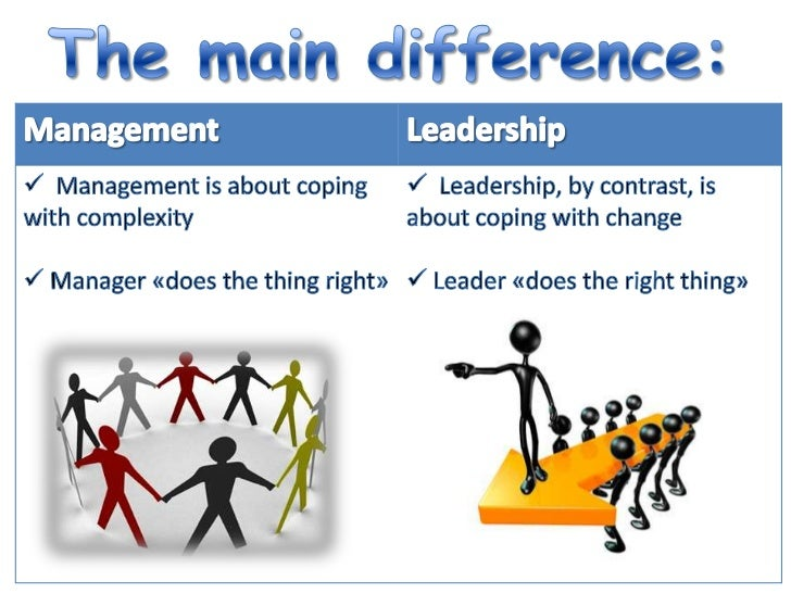 essay on leadership versus management Read this essay on leadership vs management come browse our large digital warehouse of free sample essays get the knowledge you need in.