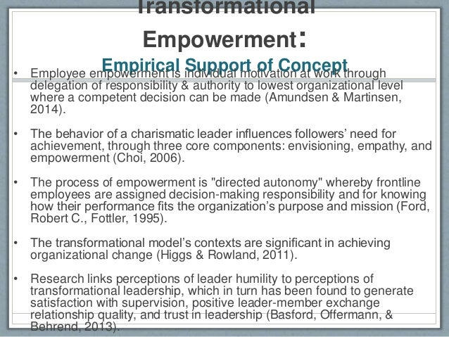 how employee empowerment and decision making autonomy impact morale Discuss how employee empowerment and decision-making employee morale is an discuss how employee empowerment and decision-making autonomy impact morale.