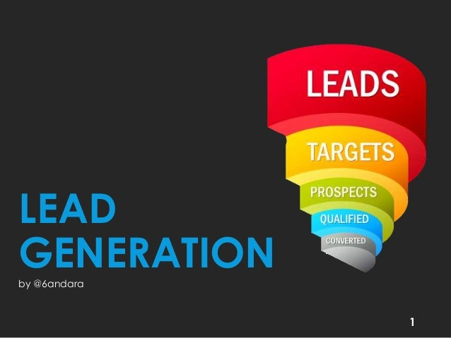 LEAD GENERATION by @6andara  1