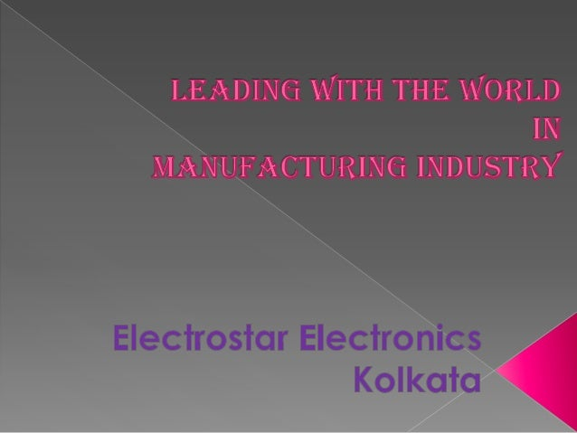 Electrostar Electronics is the elegant manufacturer in Kolkata. It is producing the best quality of electronics material f...