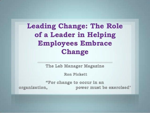 Leading change 11 18