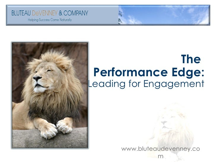 Leading For Engagement -Part 3- Oct 22.09