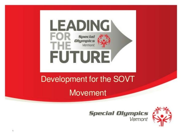 Development for the SOVT Movement Vermont 1