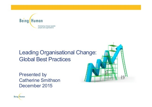 ?leading people through change essay Leading through transition perspectives on the people side of m&a 3 mergers and acquisitions (m&a) present both opportunities and challenges for the executive team.