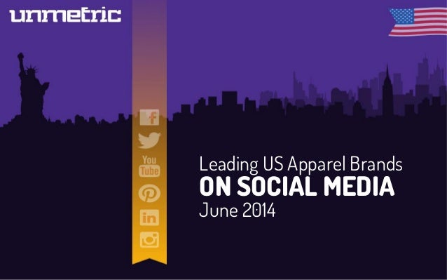 Leading US Apparel Brands on Social Media in June 2014