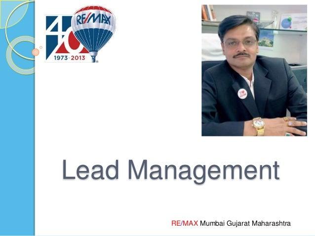 RE/MAX Mumbai Gujarat Maharashtra Lead Management