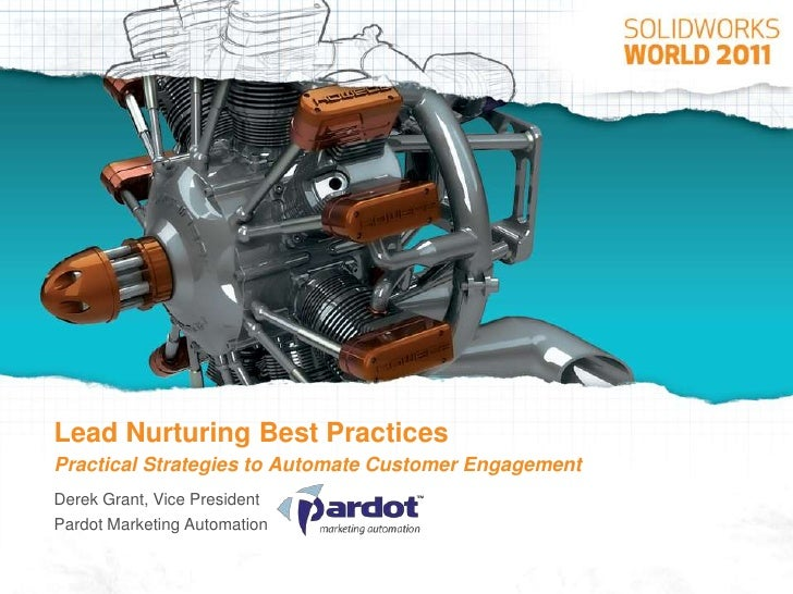 Lead nurturing best practices   SolidWorks World