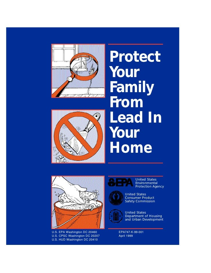 Lead Paint Epa Brochure