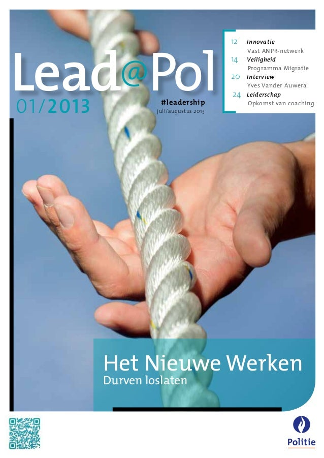 Leadership @ Police - about working differently
