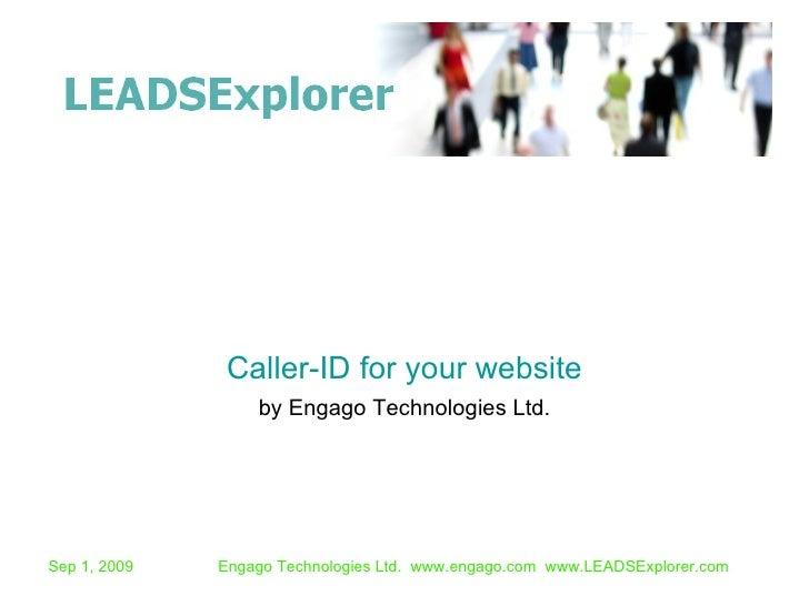 Leads Explorer Caller-Id for B2B websites