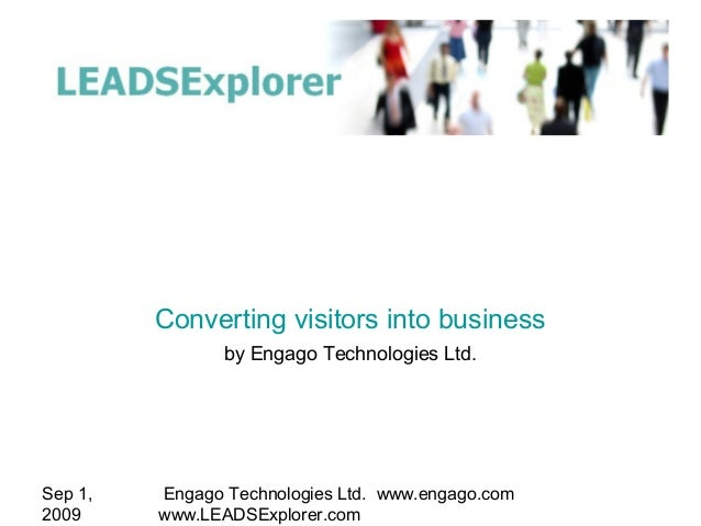 Leads Explorer Converting Visitors Into Business