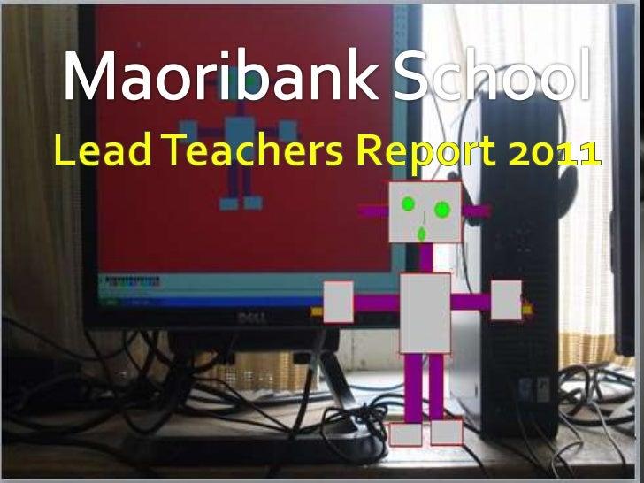 Lead teachers presentation 2011