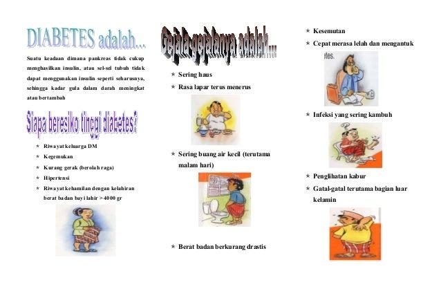 Diabetes patient leaflets