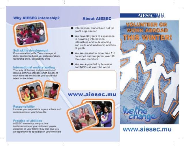 Leaflet print
